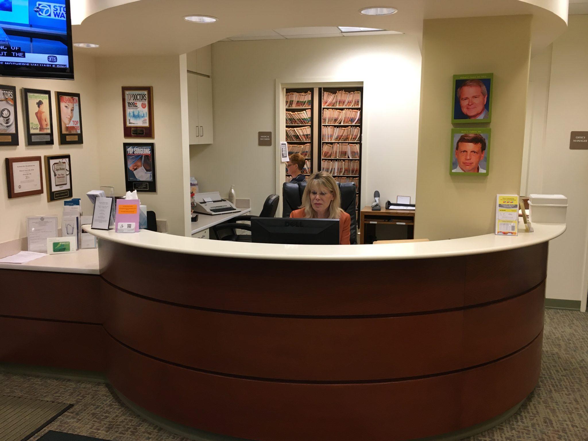Michael P. Vincent MD FACS Surgery Center Waiting Room